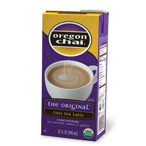 Oregon Chai Original Chai Tea Latte Concentrate (32oz)