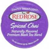 Red Rose Spiced Chai Tea K Cup Loose Leaf Cup