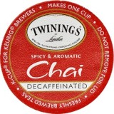 Twinings Chai Tea K-Cup : Traditional Decaf Chai
